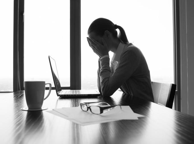 Efeitos do stress sobre a visão.