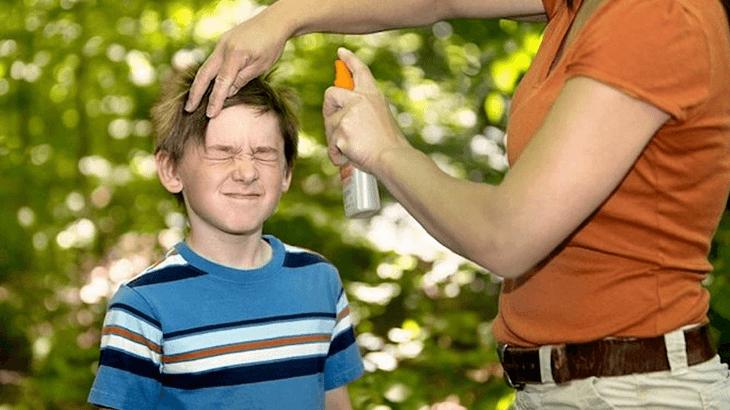 Repelente pode afetar os olhos