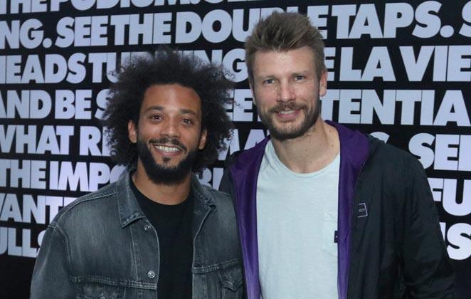 Marcelo e Rodrigo Hilbert entram para o Time Oakley