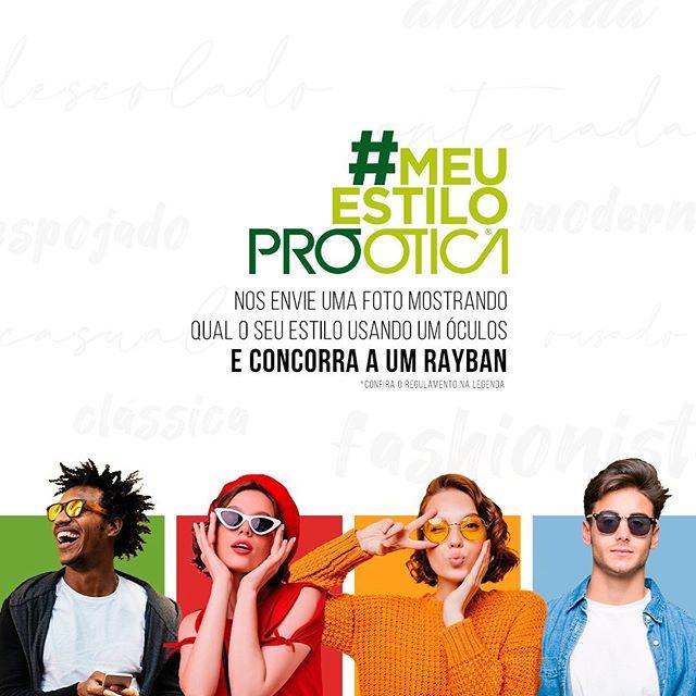 Consurso Cultural #MeuEstiloProOtica