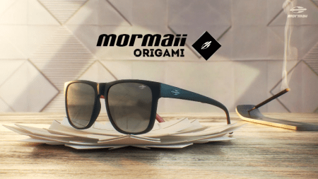 Mormaii Óculos lança Origami inspirado na arte milenar japonesa